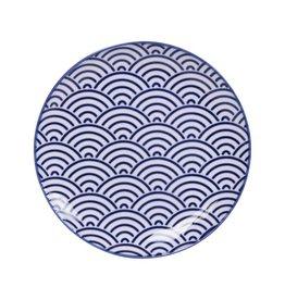 Tokyo Design Studio Assiette Ø 16 cm New Nippon Blue de Tokyo Design Studio