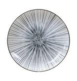 Tokyo Design Studio Tokyo Design Studio New Nippon Black Set van 3 Borden Ø 20,6 cm. In fraaie geschenkdoos