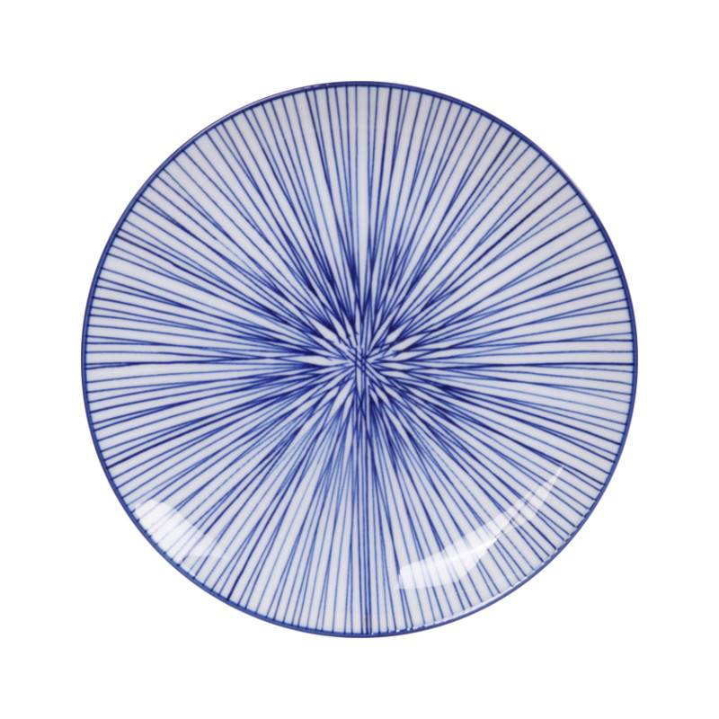 Tokyo Design Studio Coffret de 3 Assiettes Ø 20,6 cm New Nippon Blue de Tokyo Design Studio