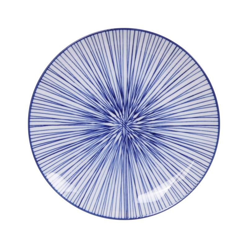 Tokyo Design Studio Tokyo Design Studio New Nippon Blue 3-er Set Teller Ø 20,6 cm in schöner Geschenkbox