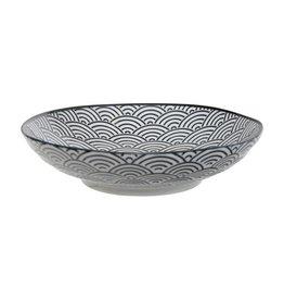 Tokyo Design Studio Tokyo Design Studio New Nippon Black Pasta Plate Ø 21 cm