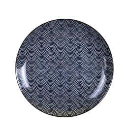 Tokyo Design Studio Tokyo Design Studio New Nippon Black Plate Ø 16 cm