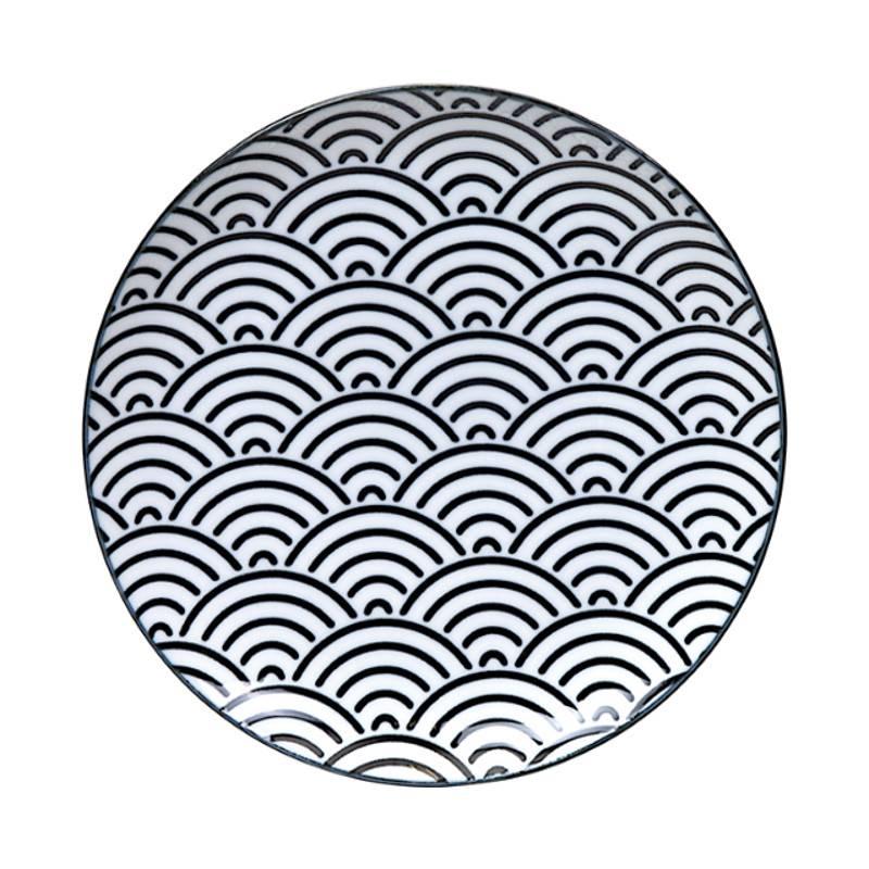 Tokyo Design Studio Lot de 3 Assiettes Ø 25,7 cm New Nippon Black de Tokyo Design Studio