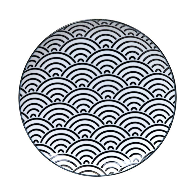 Tokyo Design Studio Tokyo Design Studio New Nippon Black 3-er Set Teller Ø 25,7 cm