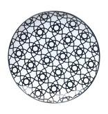 Tokyo Design Studio Tokyo Design Studio New Nippon Black Set of 3 Plates Ø 25.7 cm