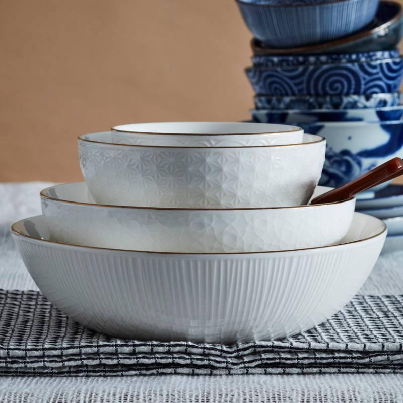 Tokyo Design Studio Coffret de 6 Cuillères à Café ou Thé 13 cm Nippon White de Tokyo Design Studio
