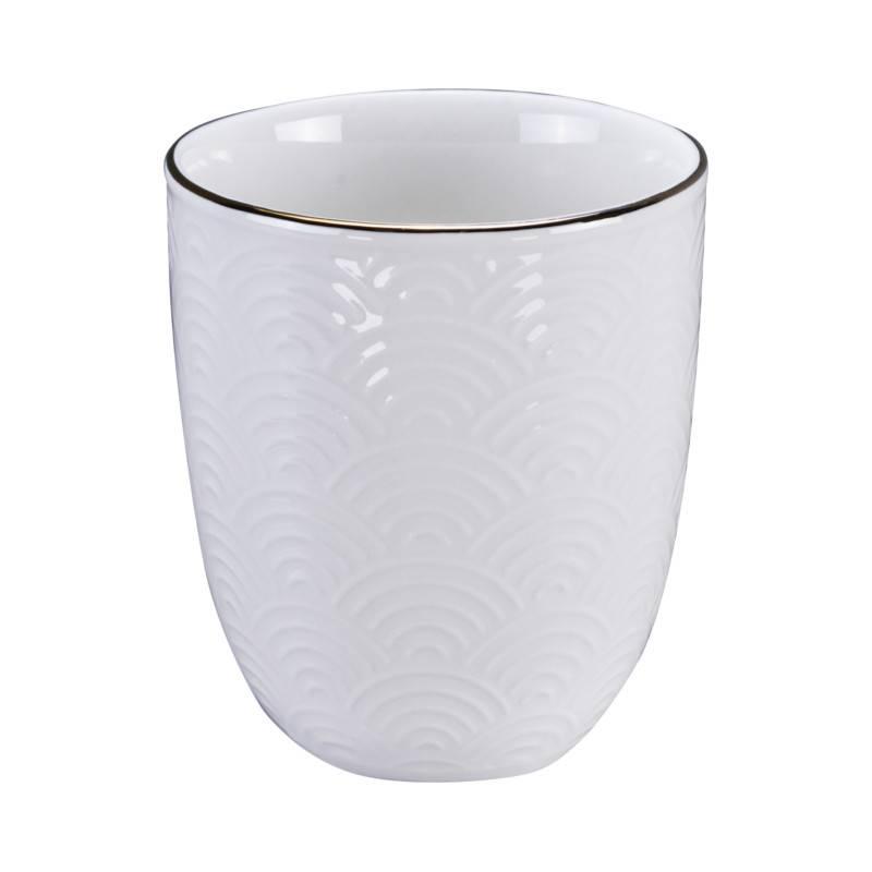 Tokyo Design Studio Coffret Théière 0,8 l avec 4 Tasses à Thé Nippon White de Tokyo Design Studio