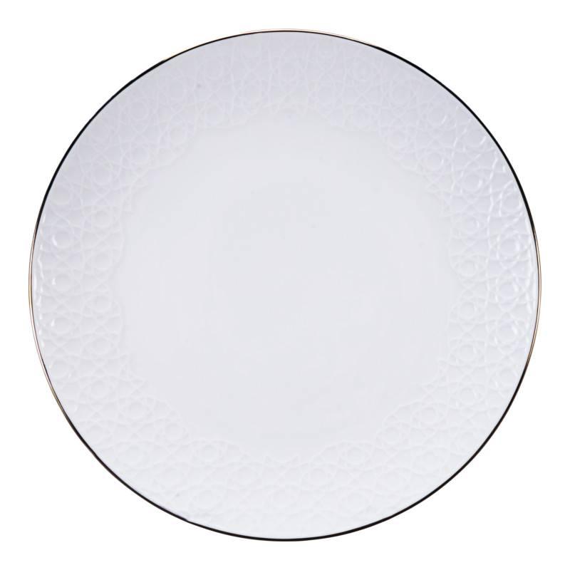 Tokyo Design Studio Tokyo Design Studio Nippon White Set van 4 Borden Ø 30 cm - in fraaie geschenkdoos