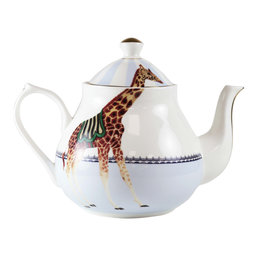 Yvonne Ellen London Yvonne Ellen - Carnival Animal Theepot 1,6 Liter - Giraf - Bone China