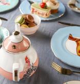 Yvonne Ellen London Yvonne Ellen London - Carnival Animal - 'Tea for One' Teekanne 900 ml- Cheetah - Bone China Porzellan  - Copy