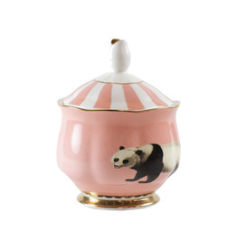 Yvonne Ellen London Yvonne Ellen - Carnival Animal  - Sugar Bowl - Panda - Bone China