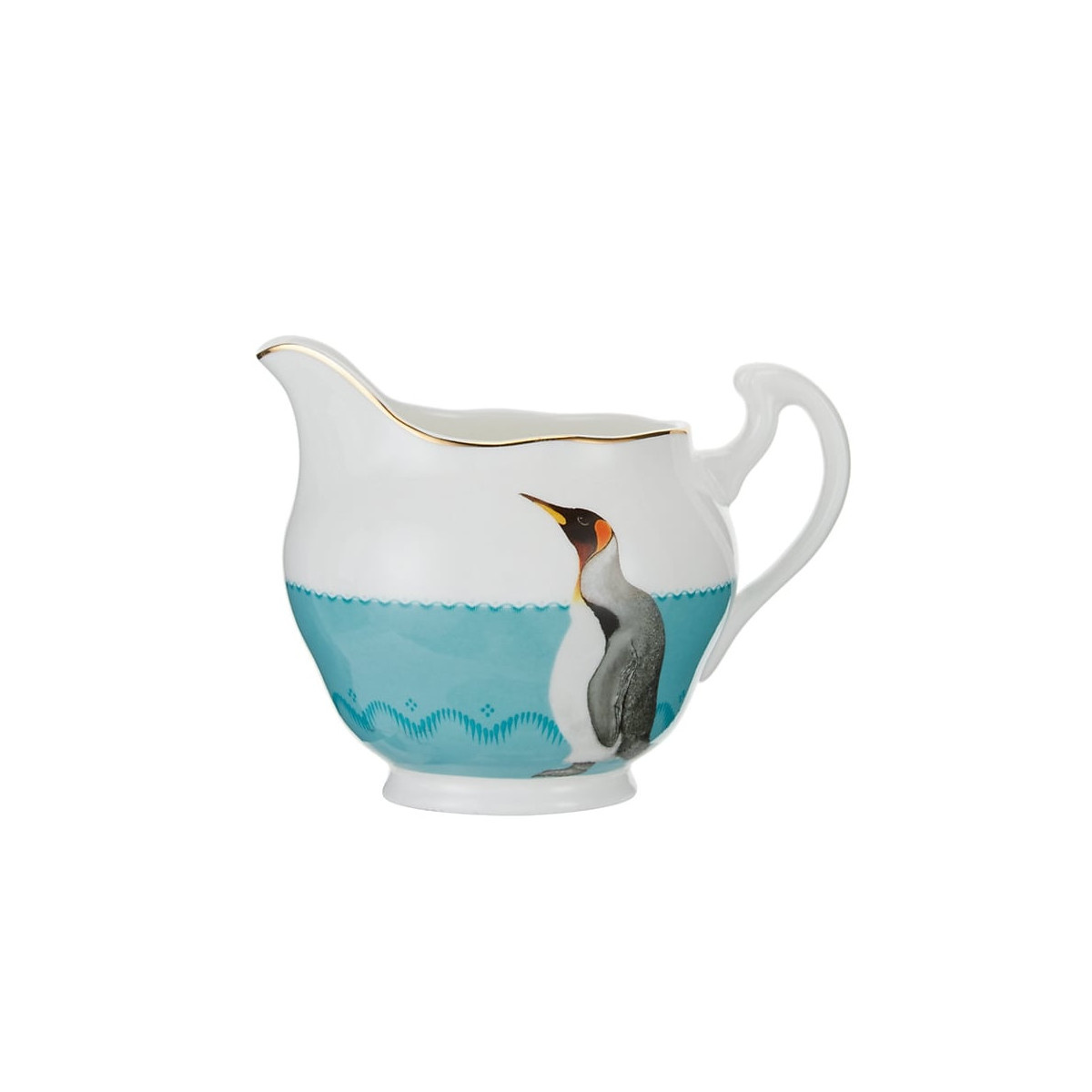 Yvonne Ellen London Yvonne Ellen - Carnival Animal  - Milk Jug - Penguin - Bone China Porcelaine