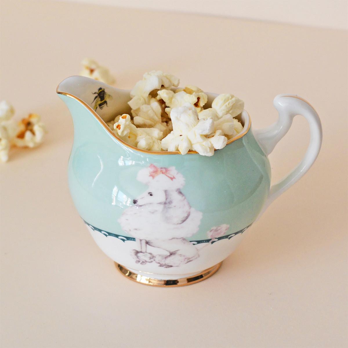 Yvonne Ellen London Yvonne Ellen - Carnival Animal  - Cream Jug - Poodle - Bone China Porcelaine