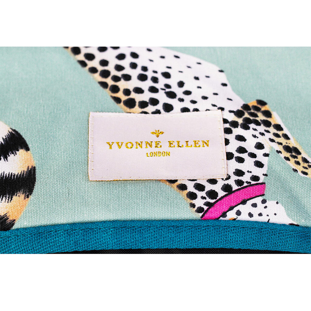 Yvonne Ellen London Yvonne Ellen PICNIC Cheeky Cheetahs Picknick Decke 145 x 140 cm
