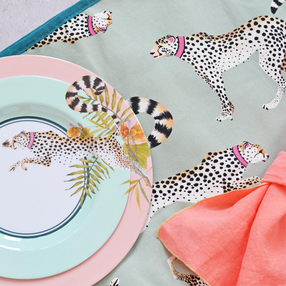 Yvonne Ellen London Yvonne Ellen PICNIC Cheeky Cheetahs Picknick Kleed 145 x 140 cm