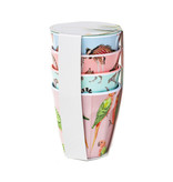 Yvonne Ellen London Yvonne Ellen PICNIC Safari - 4-er Set Becher 300 ml - Melamine