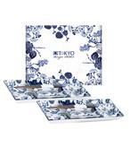 Tokyo Design Studio Coffret Service à Sushi |  Flora Japonica  | Tokyo Design Studio | 6-pièces  | Pour 2 Personnes