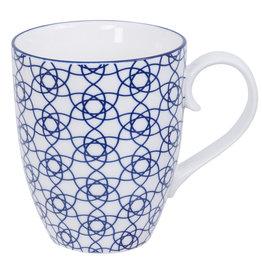 Tokyo Design Studio Mug à Thé ou Café 380 ml  Nippon Blue de Tokyo Design Studio