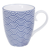 Tokyo Design Studio Tokyo Design Studio  Nippon Blue Tasse mit Henkel 380 ml