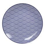Tokyo Design Studio Tokyo Design Studio | Nippon Blue | Set van 4 Borden Ø 25,7 cm | 4 Designs