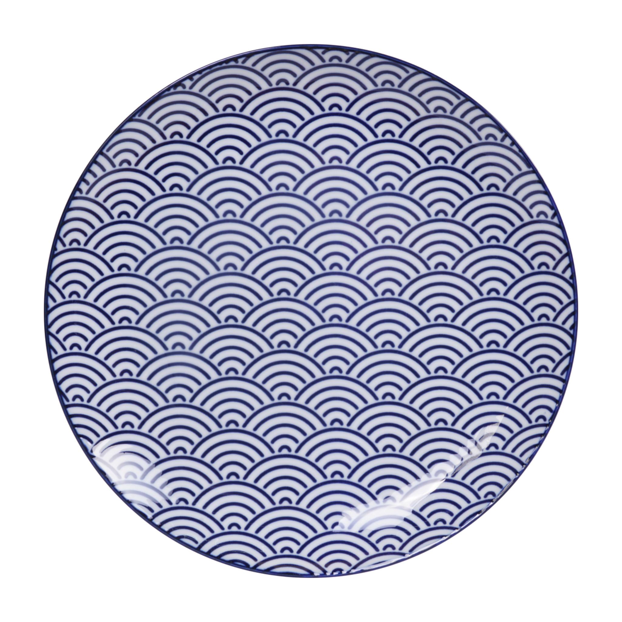 Tokyo Design Studio Lot de 4 Assiettes Ø 25,7 cm | Nippon Blue de Tokyo Design Studio