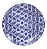 Tokyo Design Studio Lot de 4 Assiettes Ø 20,6 cm | Nippon Blue de Tokyo Design Studio
