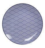 Tokyo Design Studio Tokyo Design Studio | Nippon Blue Set of 4 Plates Ø 20.6 cm  - Copy