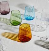 Livellara Livellara RINASCIMENTO  Verre Tumbler 400 ml – Lot de 6 – Mélange de 6 couleurs différentes