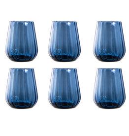 Livellara Livellara RINASCIMENTO  Tumbler 400 ml – Set of 6 – Ink Blue