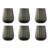 Livellara Livellara RINASCIMENTO  Tumbler 400 ml – Set of 6 – Grey