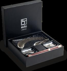 Edo Japan Edo Japan | ANSEN | Japanisches Sushi Geschirr Set | 6-Teilig | für 2 Personen | In Geschenkbox