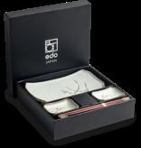 Edo Japan  Edo Japan | HANA GREEN | Japanisches Sushi Geschirr Set | 6-Teilig | für 2 Personen | In Geschenkbox