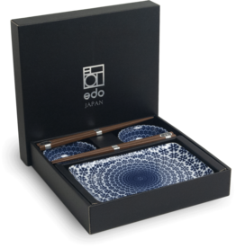 Edo Japan Coffret Service à Sushi YUKI  de Edo Japan |  6-pièces