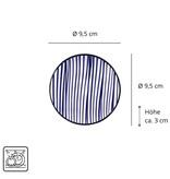 Tokyo Design Studio Tokyo Design Studio Nippon Blue Sushi Servies Set – 6-delig