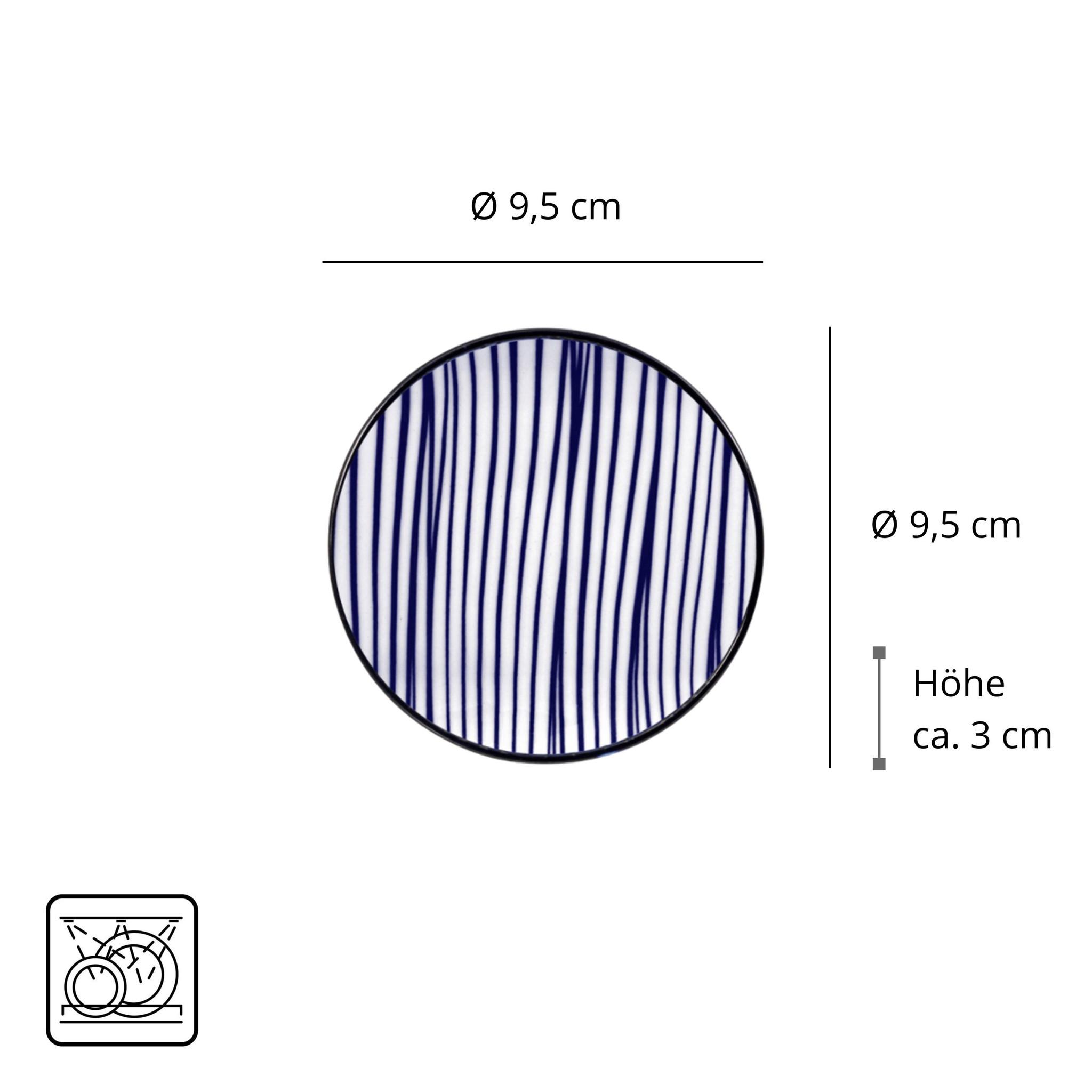 Tokyo Design Studio Tokyo Design Studio New Nippon Blue 6-teiliges Sushi Geschirr Set  - Copy