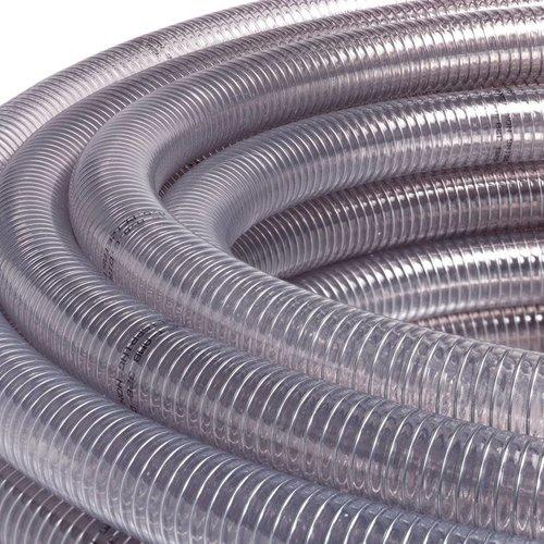 Metal flex transparante zuigslang