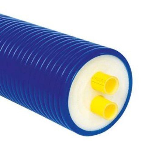 Microflex duo geisoleerde PE buis, 50 x 4.6mm, prijs per meter