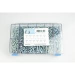 Assortiment box met zelftappende schroeven elektrolytisch verzinkt