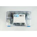 Assortiment box met splitpennen elektrolytisch verzinkt