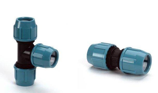 Beroemd Een flexibele waterleiding met HDPE slangen en tyleen koppelingen JB34