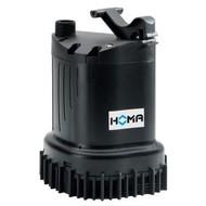 Homa dompelpomp voor schoon- en vuilwater, mantelgekoeld, C 135 W, 230 V