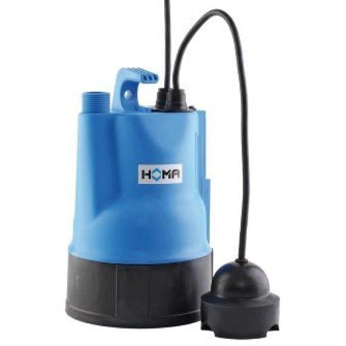 Homa dompelpomp voor schoon- en vuilwater, mantelgekoeld C 237 WF3, vlakzuig,kunststof, 230 V