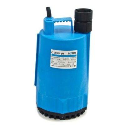 Homa dompelpomp voor schoon en vuilwater, mantelgekoeld, C235 W, kunststof, 230V