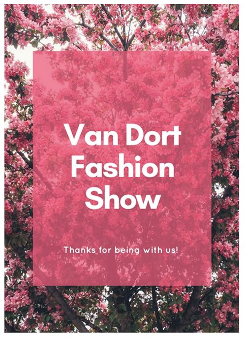 Van Dort Fashion Show
