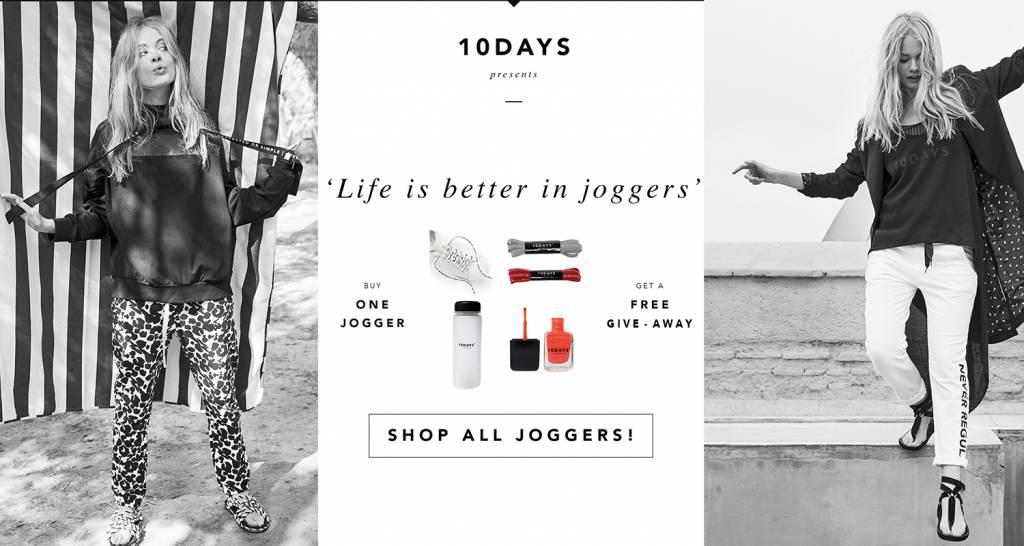 10Days Jogger Actie