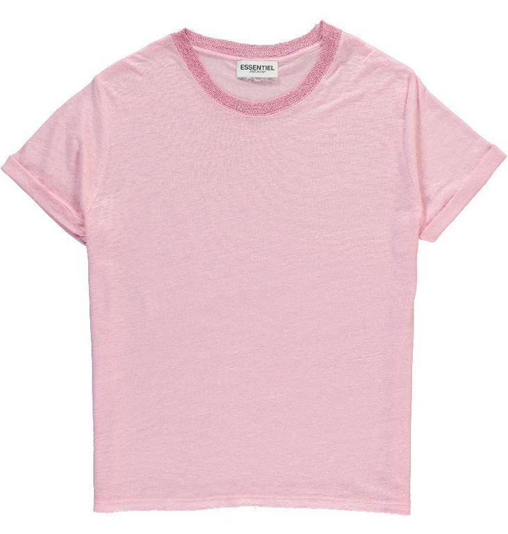 Essentiel Antwerp Pink Flawless Glow T-shirt Pastouche