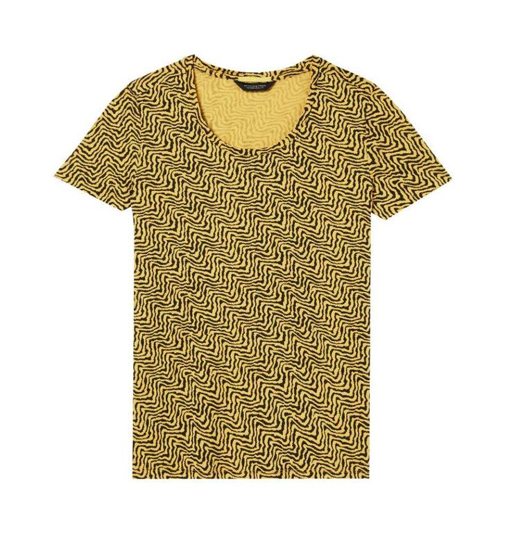 Amsterdam Blauw Yellow Relaxed fit tee 133280
