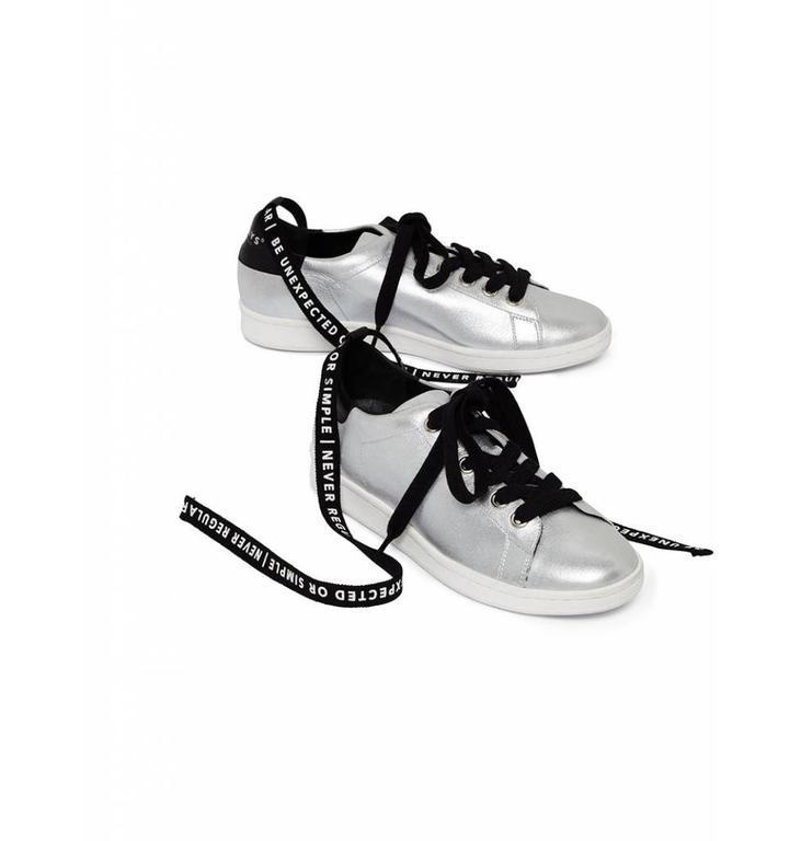 10Days Silver Sneaker 20.933.8101