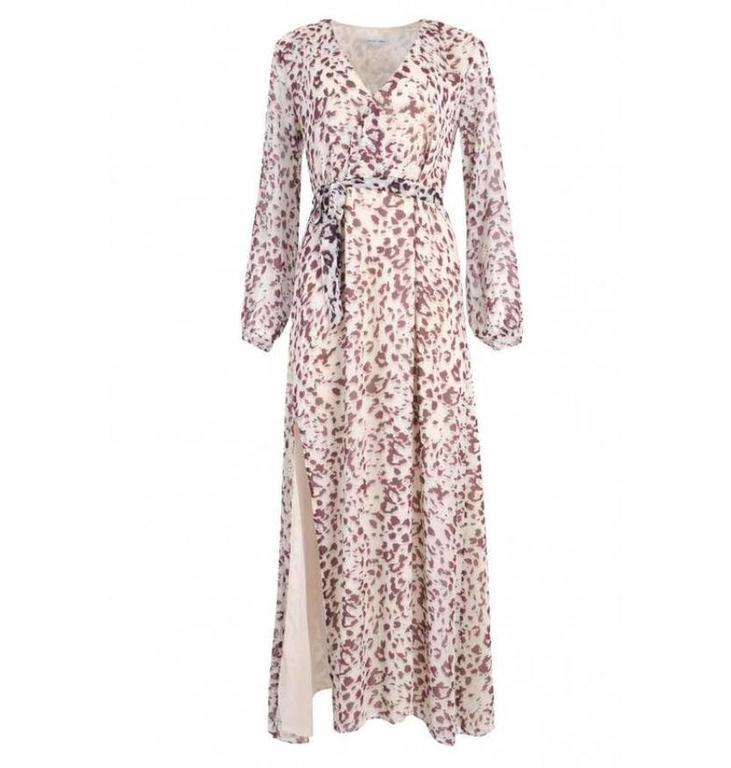 Second Female Ecru/Black Leanna Maxi Dress 51531
