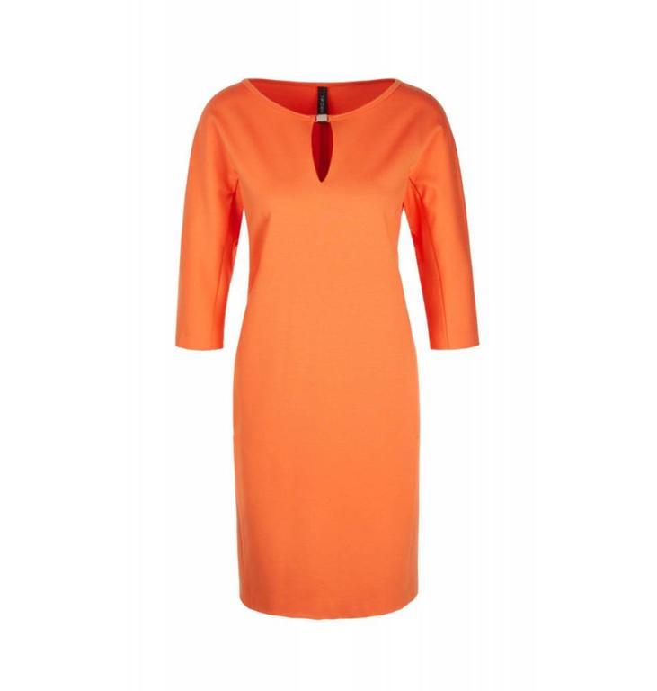 Marc Cain Collections Orange Dress KC2173